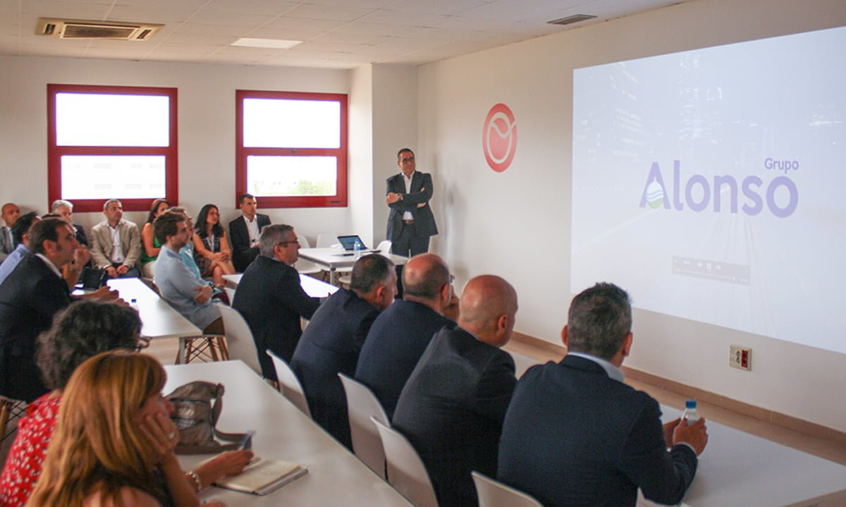 The event coincided with the 15th anniversary of the company's incorporation in the city of Barcelona.