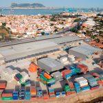 Aerial view of SAM Algeciras facilities