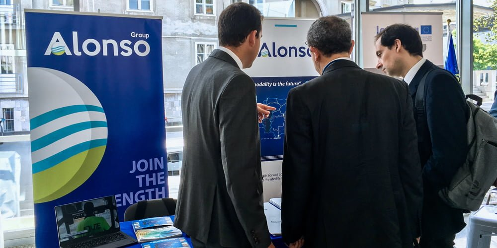 Grupo alonso participa en los Ten-T Days en Eslovenia con su Plan Logístico Global.
