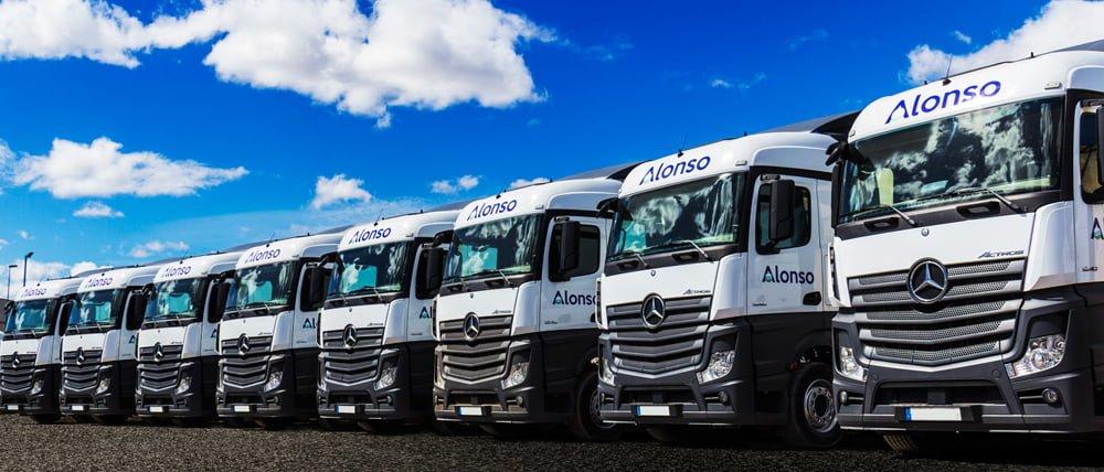 Nuevos camiones de Transportes Alonso Salcedo.