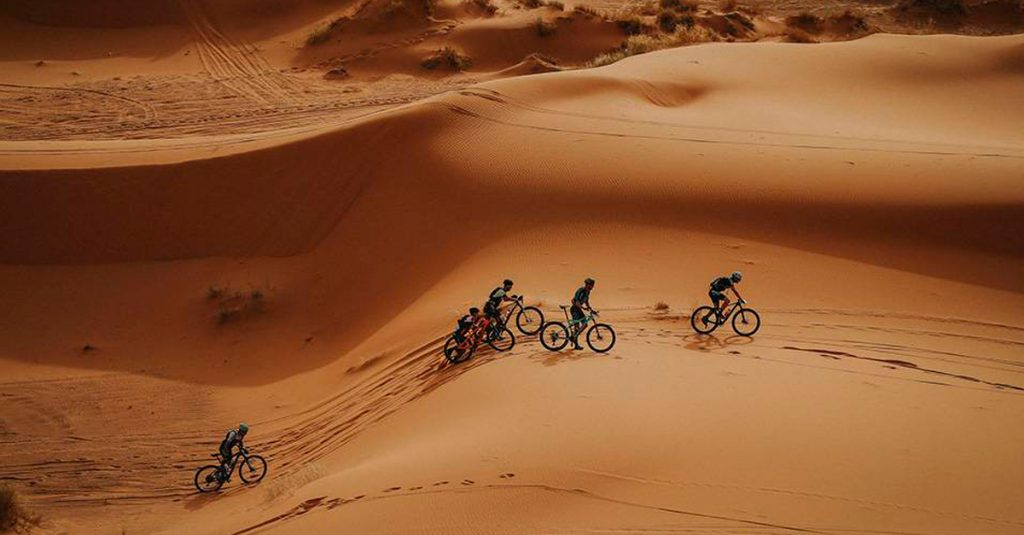 The Titan Desert race is one of the toughest in the world.