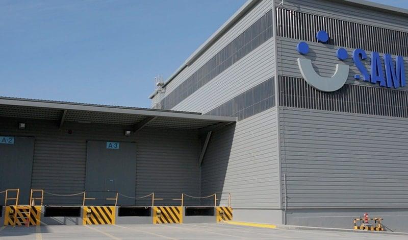Exterior of loading docks at SAM Algeciras