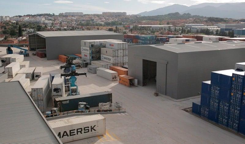 Exterior of SAM Algeciras facilities.