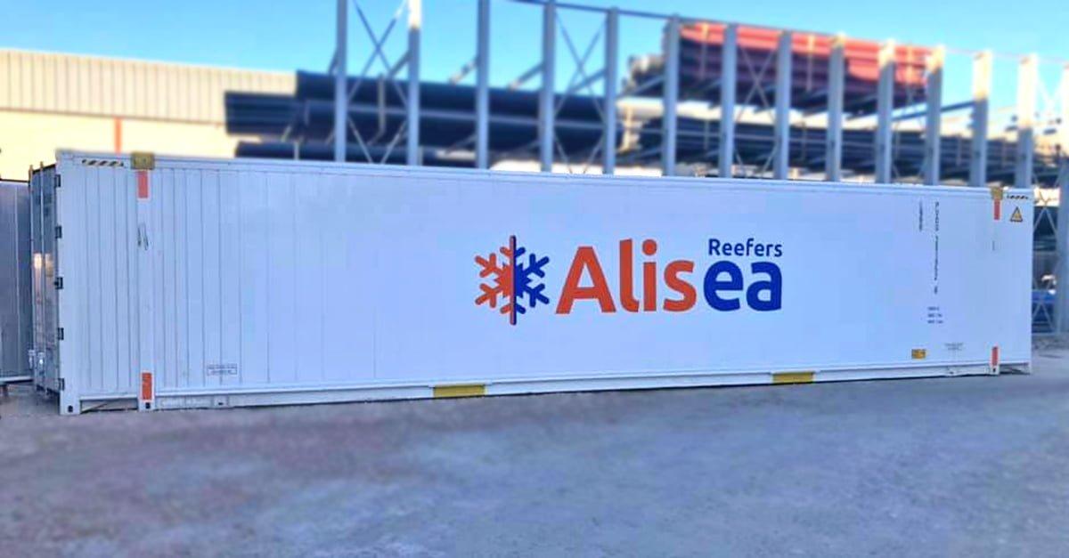 Nuevos contenedores 45' PalletWide de Alisea Reefers.