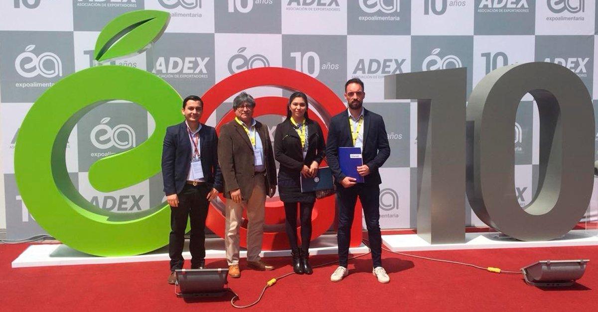 Alonso Forwarding Peru en Expoalimentaria