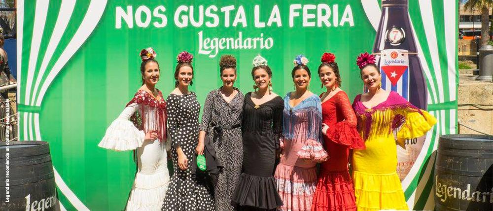El Barco de Legendario en la Feria de Sevilla