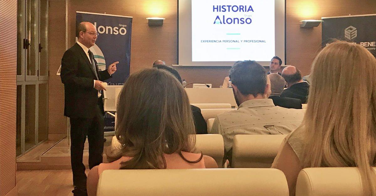 Jorge Alonso en la inauguración del Master en Derecho Marítimo y gestión económico-estratégica de la empresa marítimo-portuaria de la UCV.