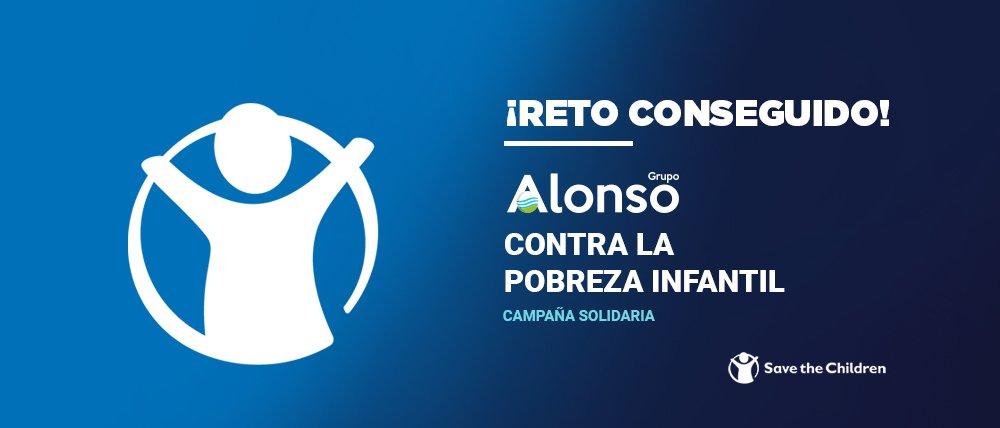 Grupo Alonso y Save the Children contra la pobreza infantil