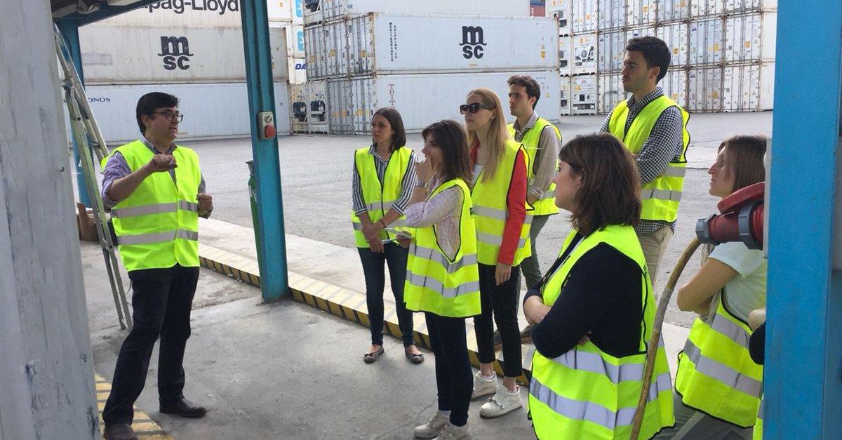 Máster en gestión empresarial del sector marítimo-portuario organizado por la UCV y Grupo Alonso.