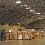 Interior of Setemar Valencia warehouses.