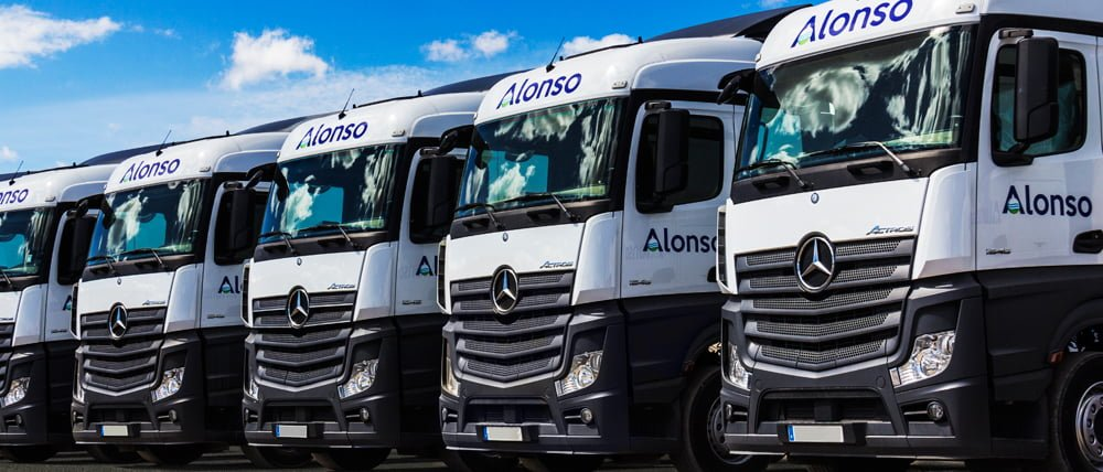 New trucks from Transportes Alonso Salcedo.