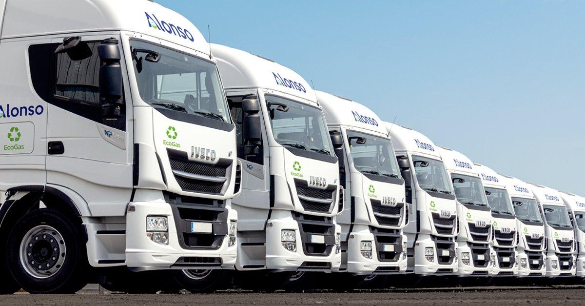 The vehicles have a range of 1,600 kilometres.