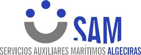 Servicios Auxiliares Marítimos Algeciras Logo