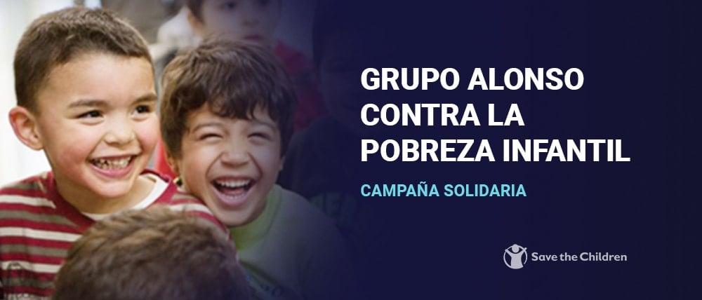 Grupo Alonso Contra la pobreza infantil.