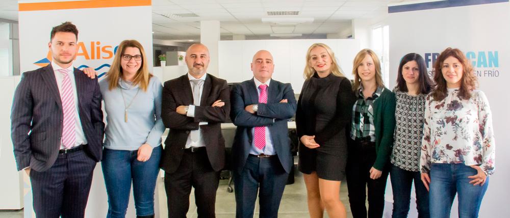Inauguración de las nuevas oficinas en Barcelona de Marítima Alisea y Fripecan.