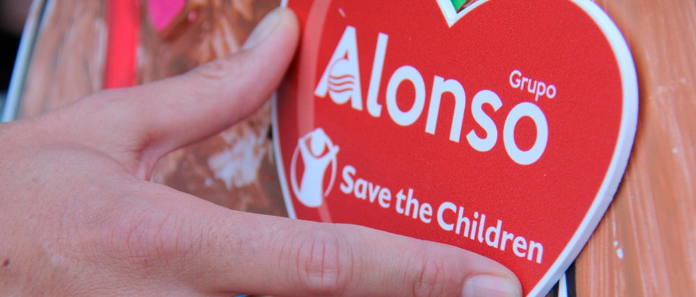 Grupo Alonso colabora con Save the Children contra la pobreza infantil
