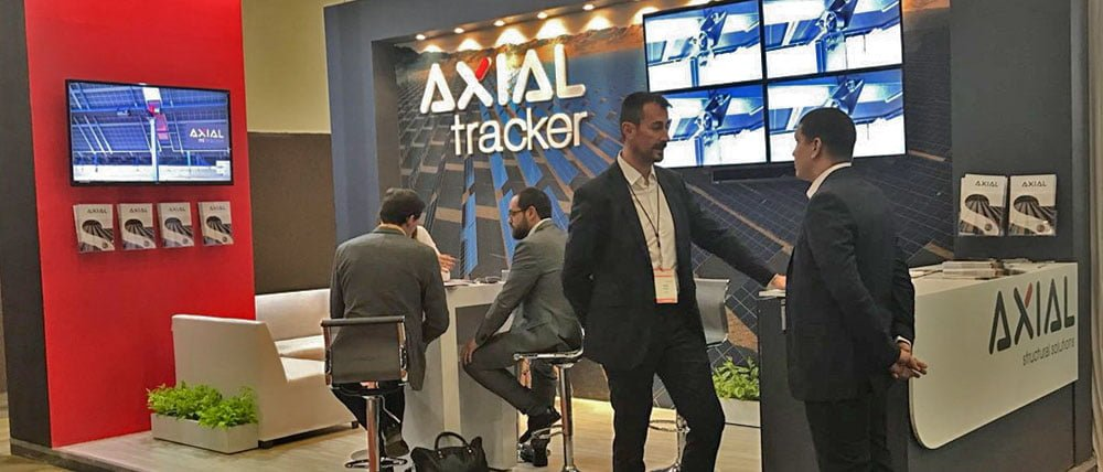 Axial Structural presents in Mexico the AXIAL Tracker ML, its latest generation solar tracker