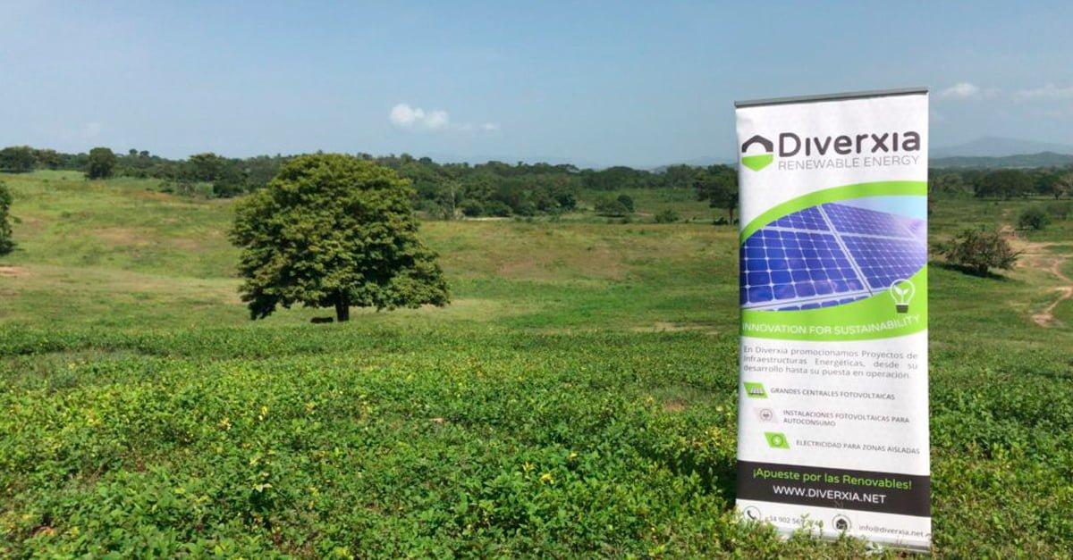 Diverxia desarrolla parques fotovoltaicos en Colombia