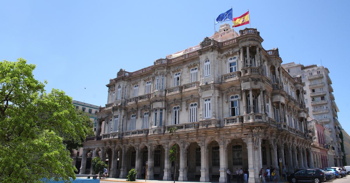 La Embajada española en Cuba será remodelada en los próximos meses.