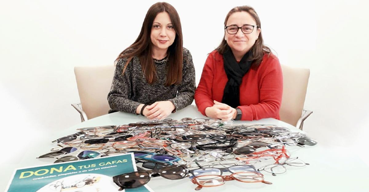 La campaña solidaria de recogida de gafas ha sido un éxito