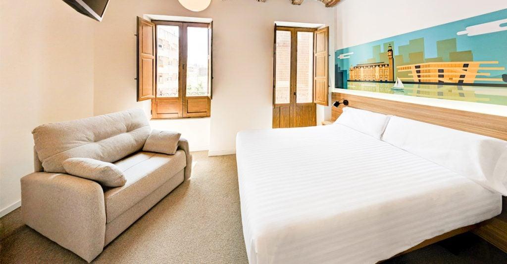 Original Domino House cuenta con un total de 21 habitaciones.
