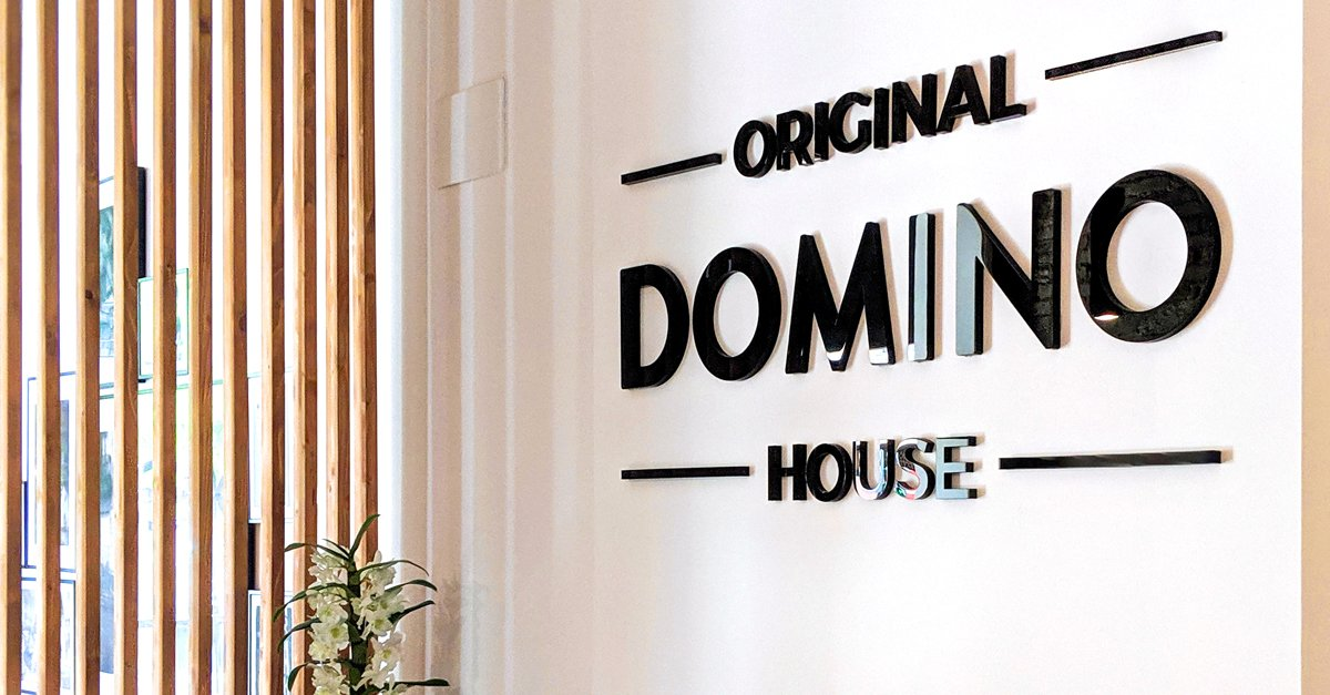 Original Domino House, un hotel con mucha historia.