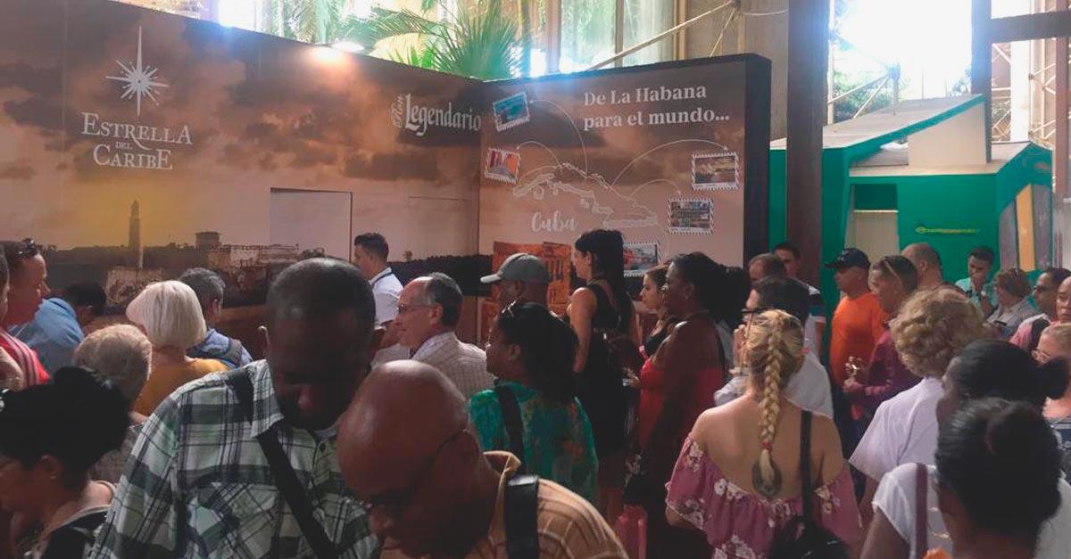 El estand de Legendario fue muy dinámico y homenajeó al 500 aniversario de la fundación de La Habana.