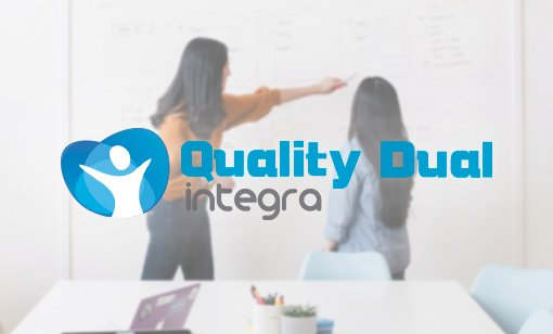 Logotipo Quality Dual Integra.