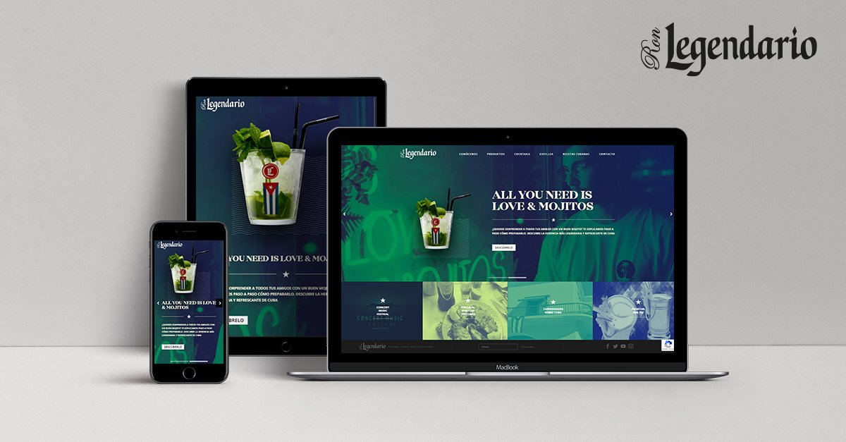 Legendario launches new website with interesting sections for all audiences.