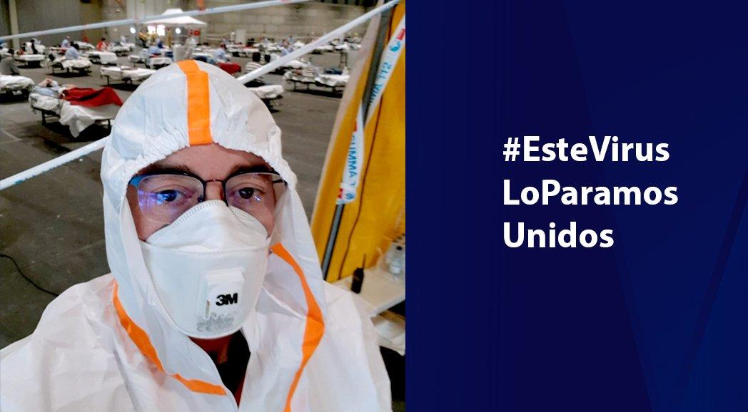 Profesional de Grupo Alonso se ofrece como voluntario en el Hospital de Ifema