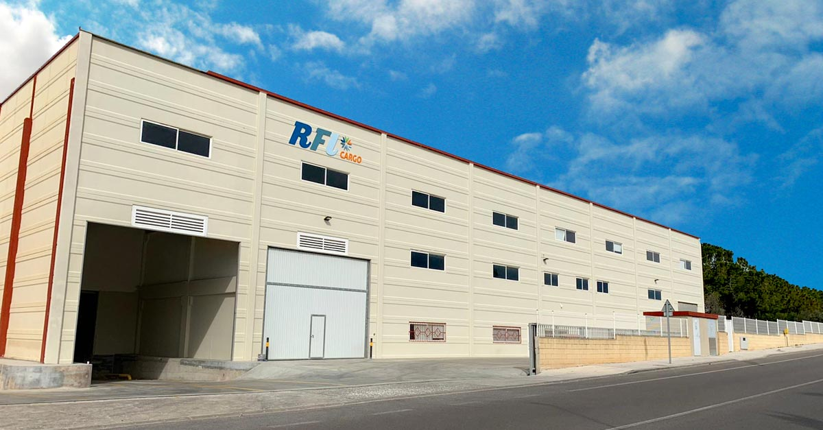 The new RFL Cargo facilities are in La Pobla de Vallbona.
