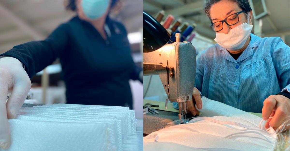Grupo Alonso ayuda en la elaboración de material sanitario