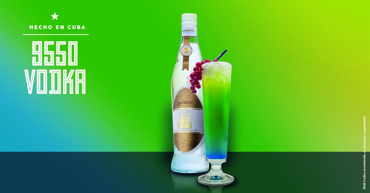 9550 Vodka, el nuevo espirituoso de la familia de Legendario.