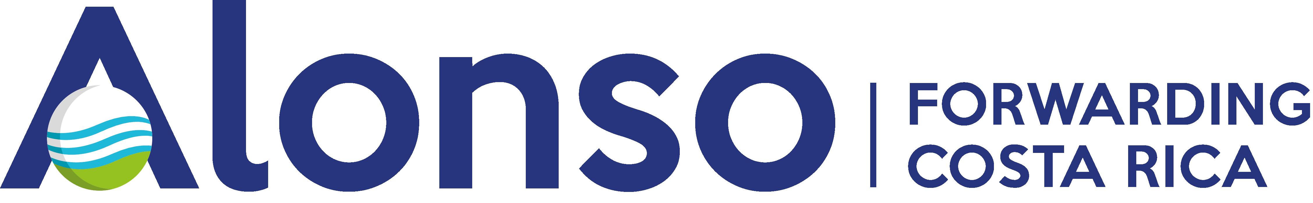 Logotipo Alonso Forwarding Costa Rica.