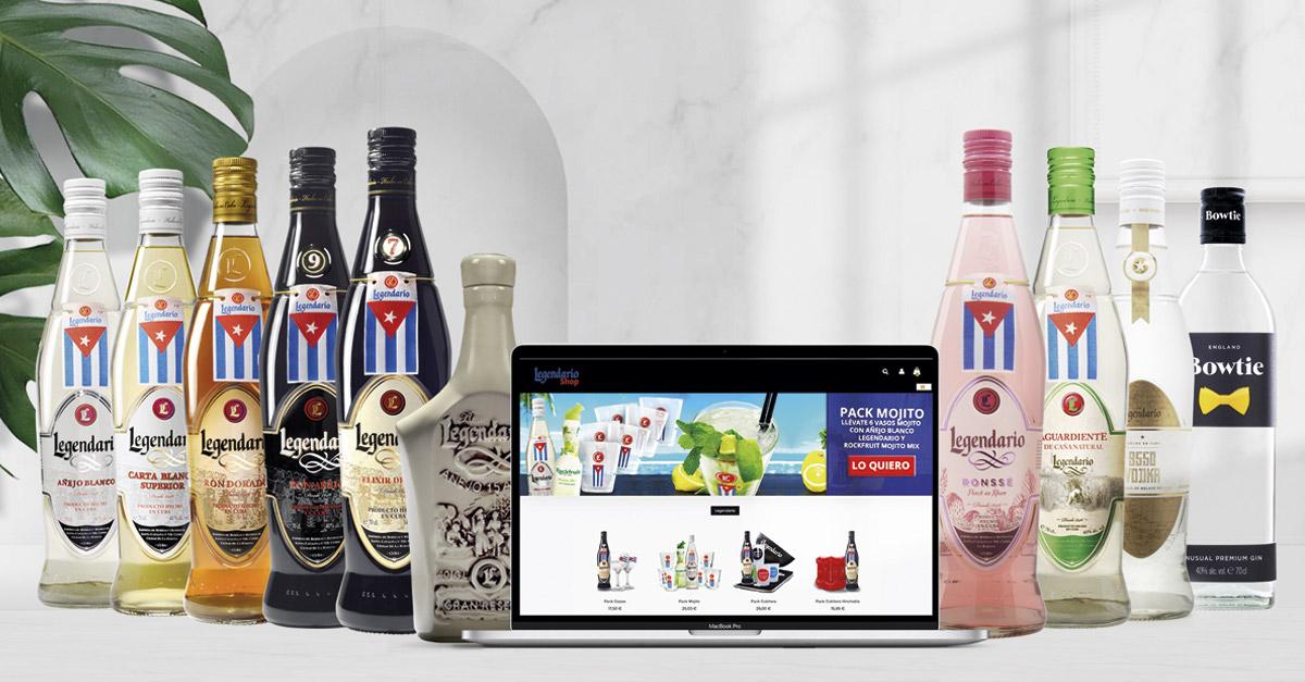 La web también incluye los últimos lanzamientos de la marca y packs exclusivos.