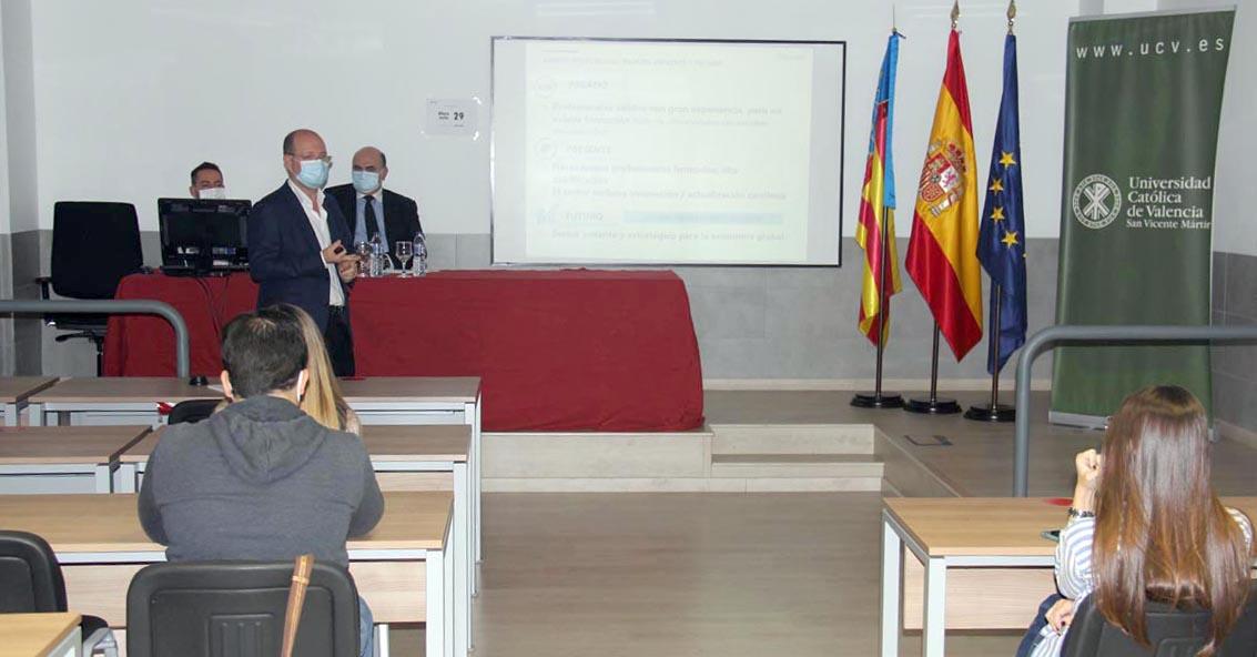 Jorge Alonso, presidente y CEO de Grupo Alonso, durante la sesión inaugural.