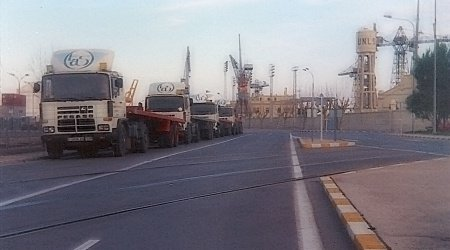 Incorporación al tráfico de contenedores en Valencia
