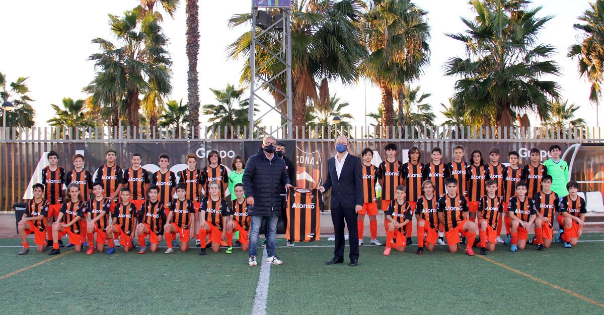 Grupo Alonso, nuevo patrocinador oficial de la temporada 2020-2021 del Patacona C.F.