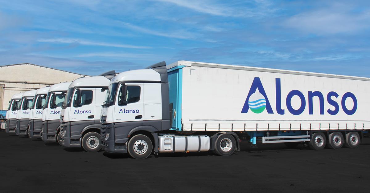 Las nuevas unidades refuerzan la división de transporte terrestre de Grupo Alonso.