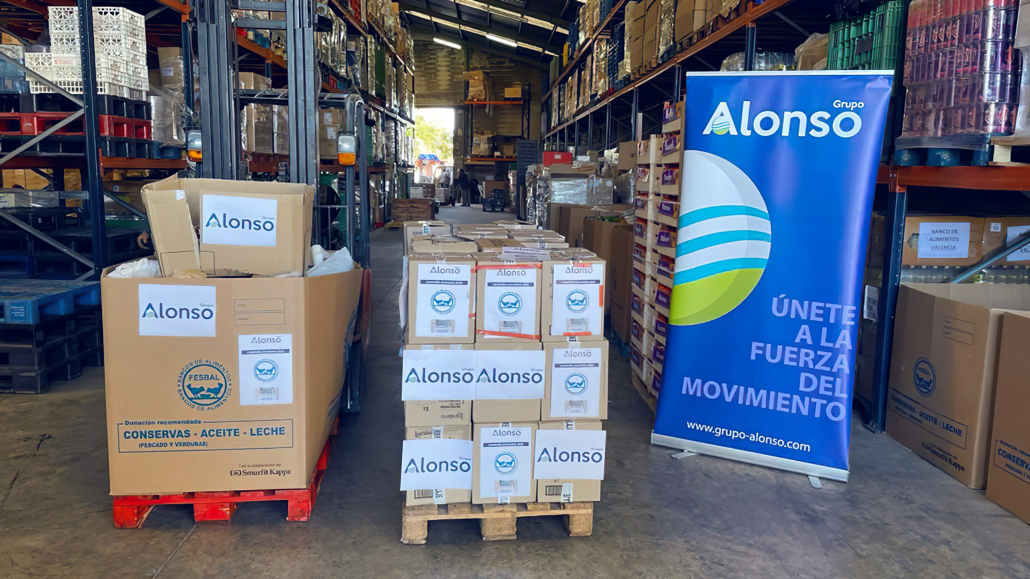 Alonso Group, one more year, multiplies its solidarity efforts for Christmas.