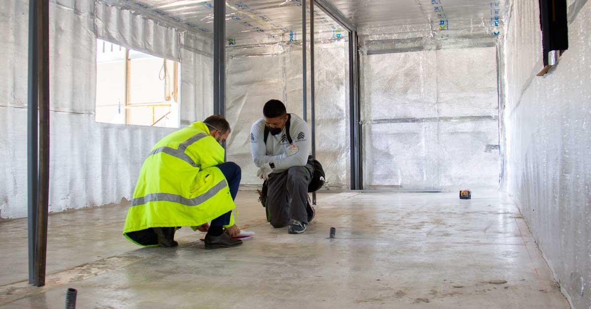 Los trabajos de la edificación comenzaron el pasado mes de julio.