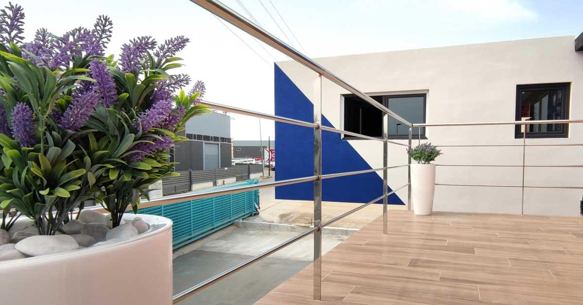 El nuevo edificio da mucha importancia a los espacios comunes y abiertos.