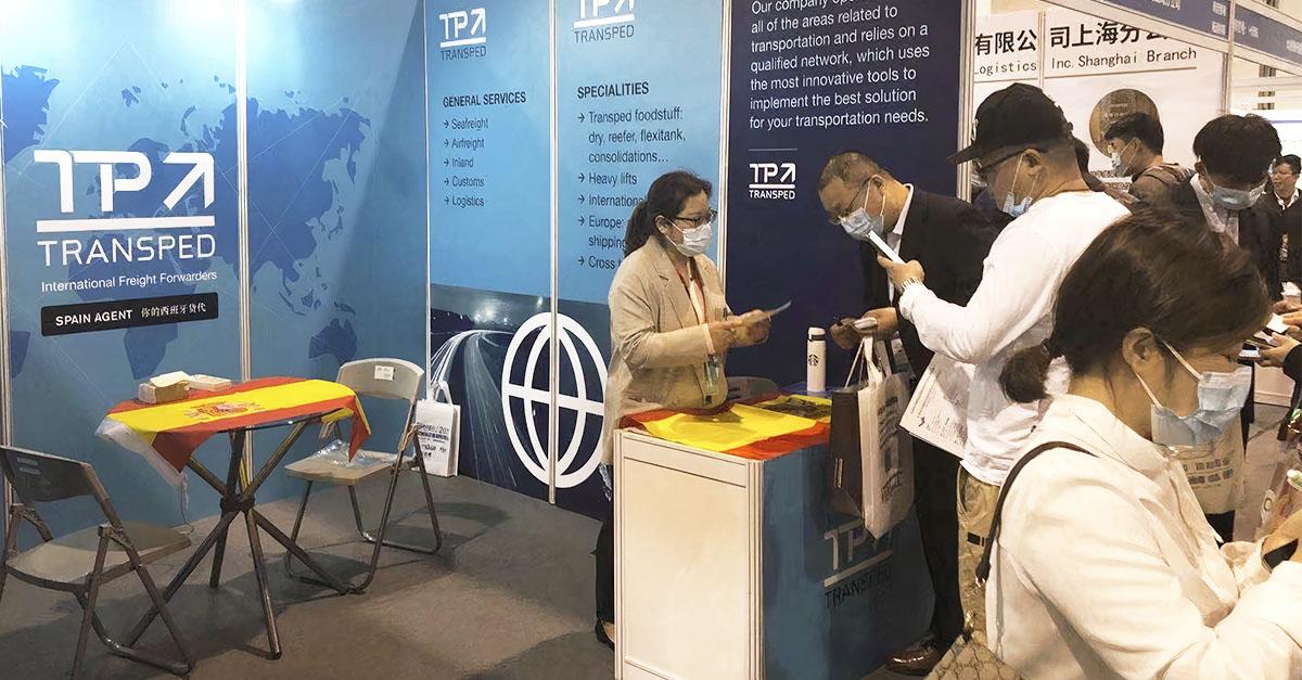 Transped ha participado en una ferias logísticas más importantes de China.