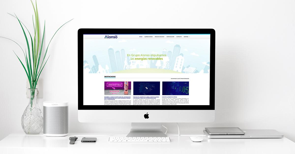 Nueva campaña de imagen y comunicación de Grupo Alonso basada en la sostenibilidad.