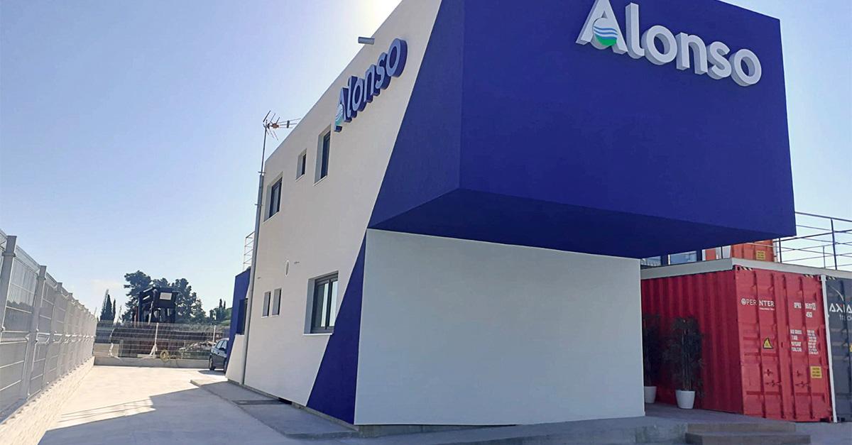 Nuevo edificio corporativo y sostenible de Grupo Alonso en Murcia.