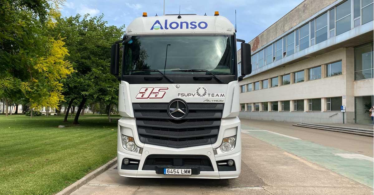 El apoyo logístico de Grupo Alonso va a ser fundamental para la escudería.