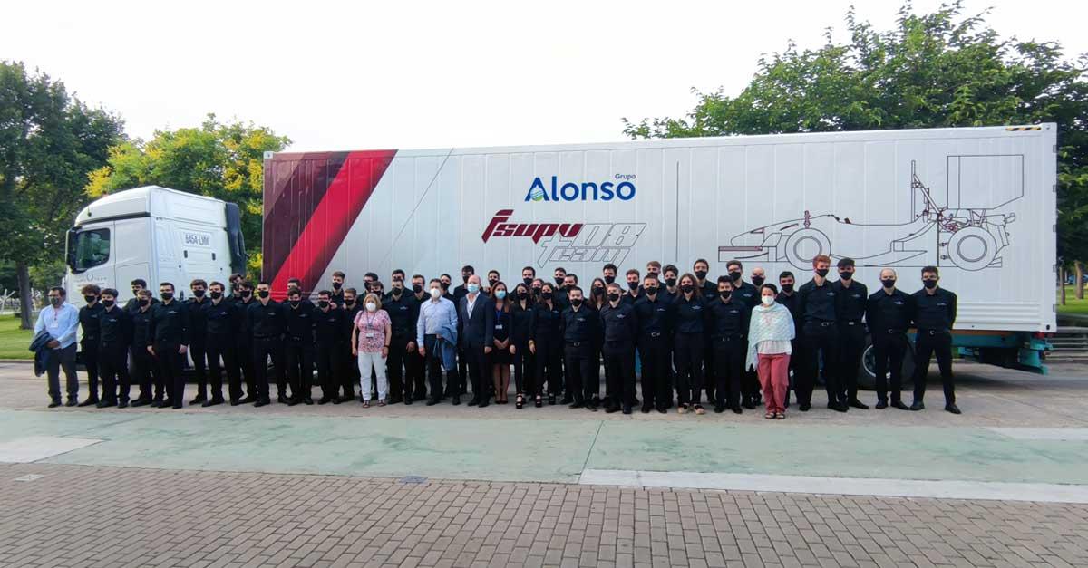 Presentación oficial en la UPV de los nuevos coches que competirán en Formula Student.