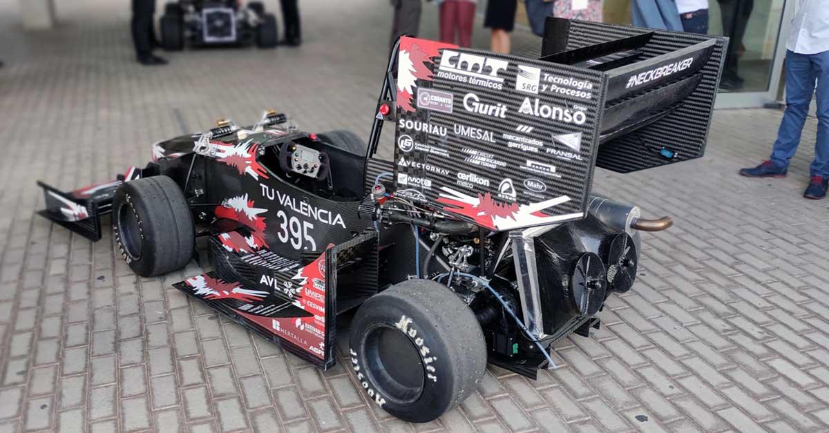 Grupo Alonso, patrocinador logístico de la escudería.