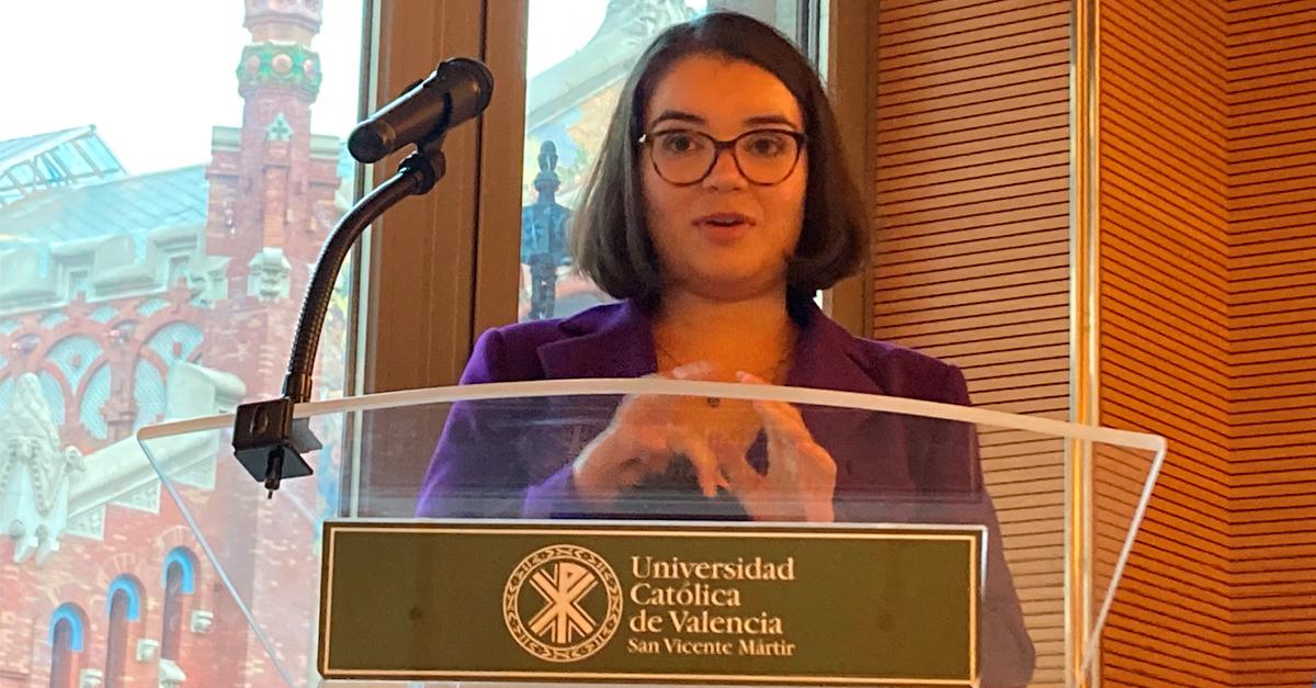 Lorena Ros ha recibido la IV Beca Alonso.